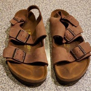 Birkenstock sandals sz 39 suede